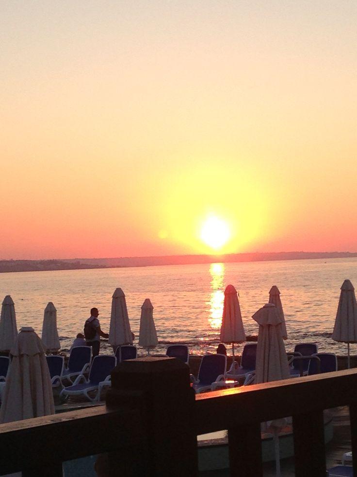 Sunset. Crete 2015