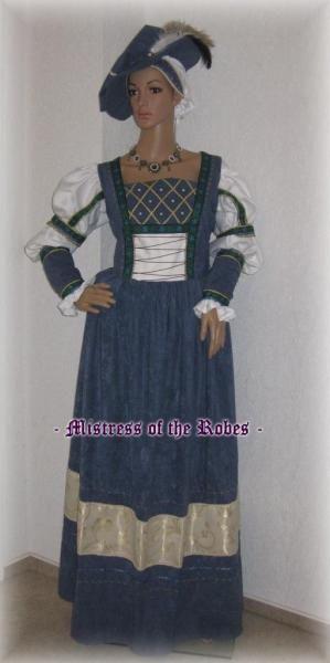 Renaissance Kleid aus der Cranach Zeit