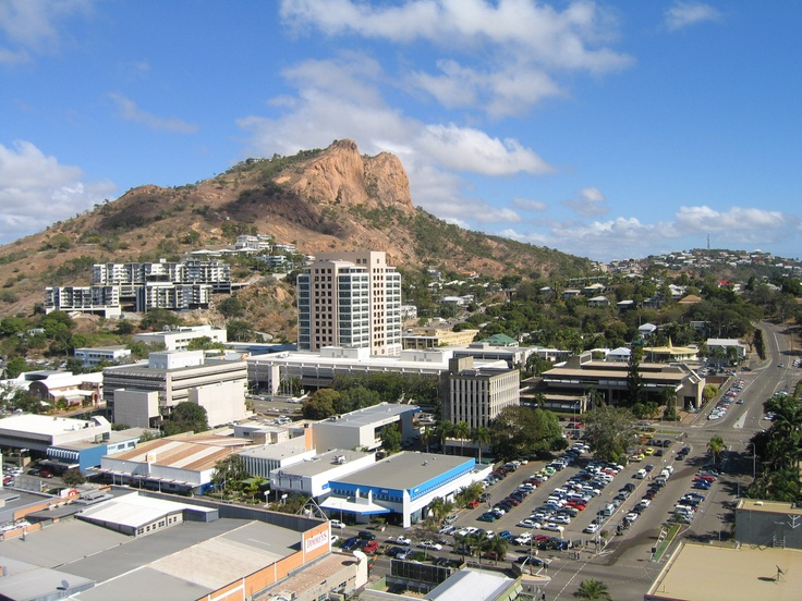 Castle Hill, Townsville Moved here as newlyweds and lived on this hill. With goannas, snakes, rhino beetles and geckos. And a dog.