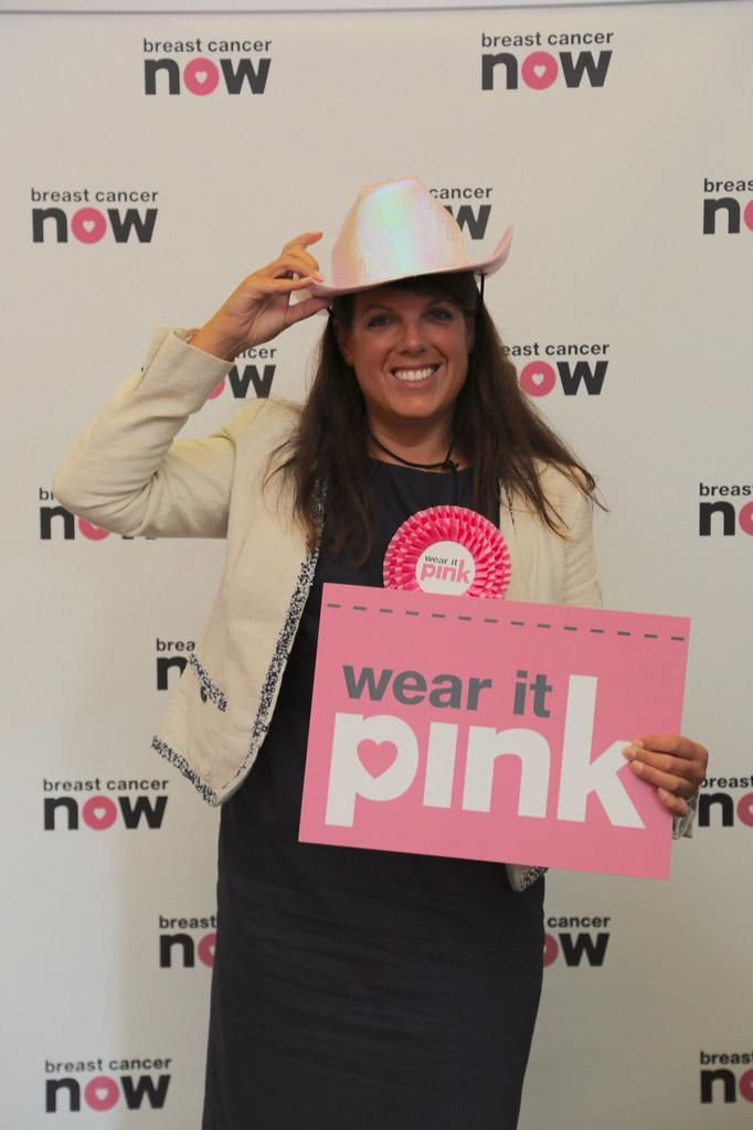 #WearitPink today for @breastcancernow Help fund research that saves lives.