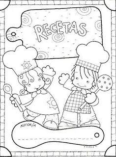 Menta Más Chocolate - RECURSOS y ACTIVIDADES PARA EDUCACIÓN INFANTIL: Actividad: Libro RECETARIO