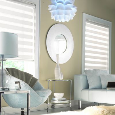 illusions shades from budget blinds go well with rooms