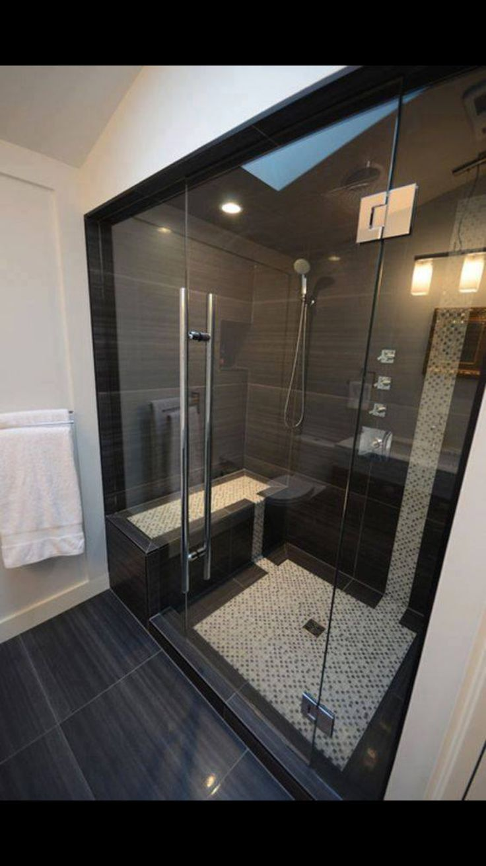 Bath shower door