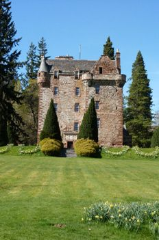 Castle Leod | the Seat of Clan Mackenzie Where we watched the Highland Games and met Diana Gabaldon, author of the Outlander series.