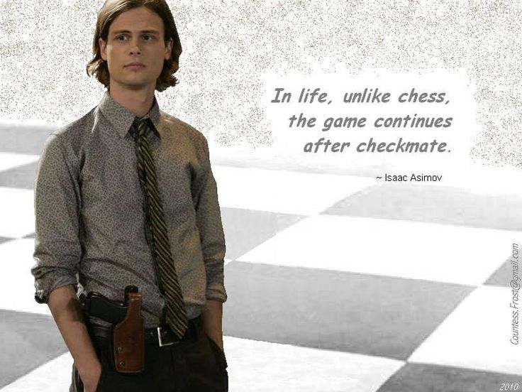 Reid quotes Asimov - criminal-minds