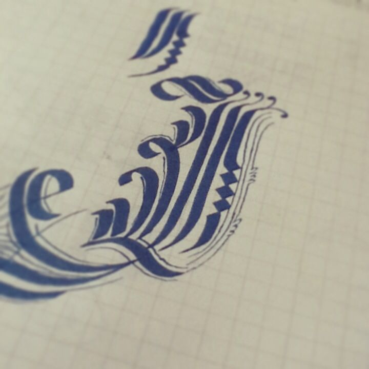 Calligraphy With Kuretake T05 Caligraf A Pinterest