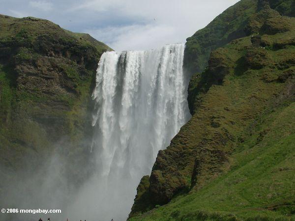 waterfall near Skogar