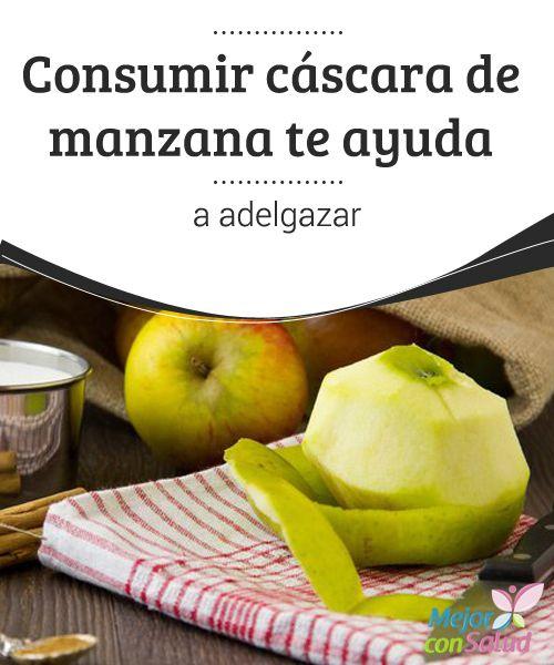 """Consumir cáscara de manzana te ayuda a adelgazar  El viejo refrán anglosajón """"an apple a day keeps the doctor away"""" (una manzana al día te mantiene lejos del médico), no está nada lejos de la realidad."""