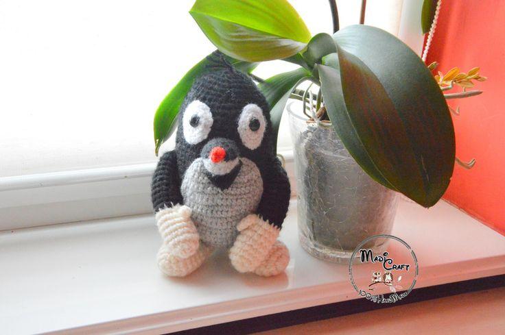 Szydełkowy Krecik z bajki/ Little Mole w MadiCraft na DaWanda.com