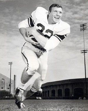 Texas A&M fullback Jack Pardee ('54-'56) - inducted into the College Football Hall of Fame in 1986