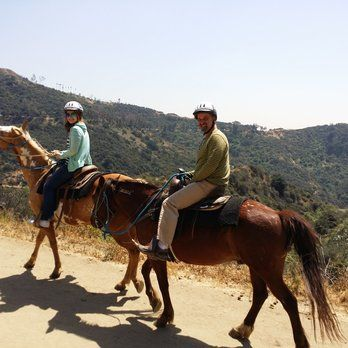Horseback riding in Hollywood Hills