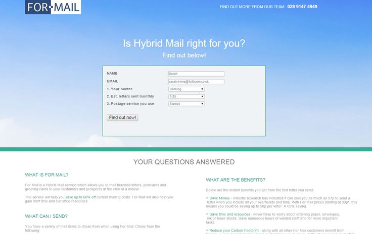 Is Hybrid Mail right for you? Find out now.  #HybridMail