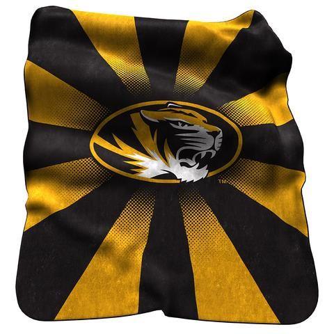 Missouri Tigers Raschel Throw #MissouriTigers