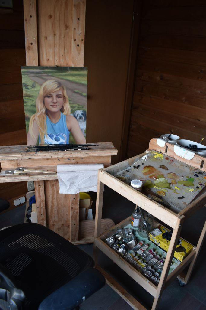 How to Set-up an Oil Painter's Studio