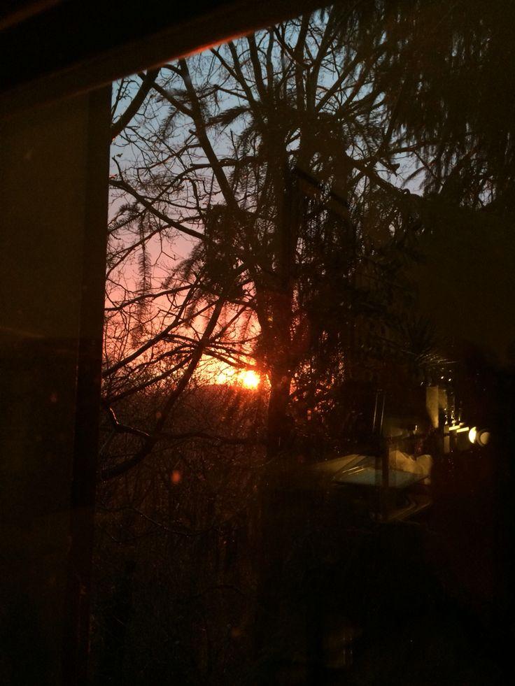 Sunset, 2-3-16