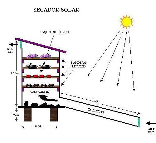 El poder de la naturaleza: Fabricar secador solar.