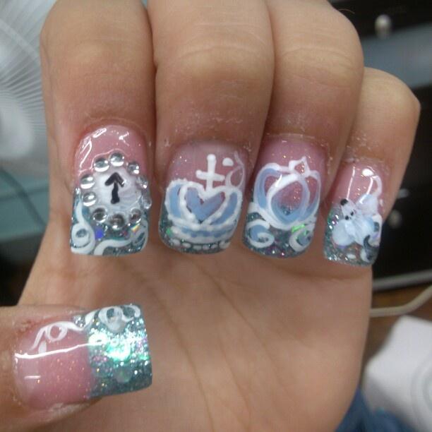 Cinderella Nail Art: 11 Best God's Princess Tea Party Images On Pinterest