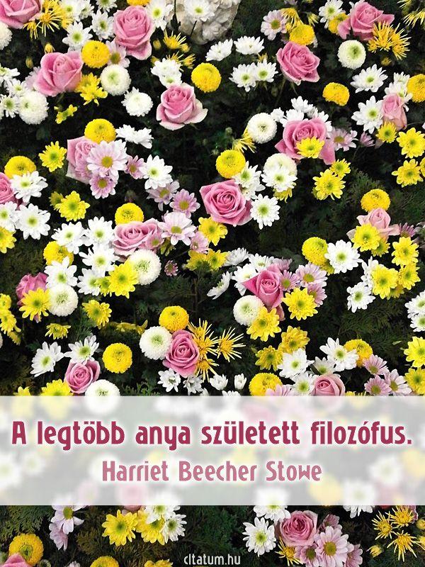 H. B. Stowe idézete az anyákról.