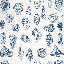Thibaut Seaside - Monterey - Wallpaper - Blue  also comes in fabric