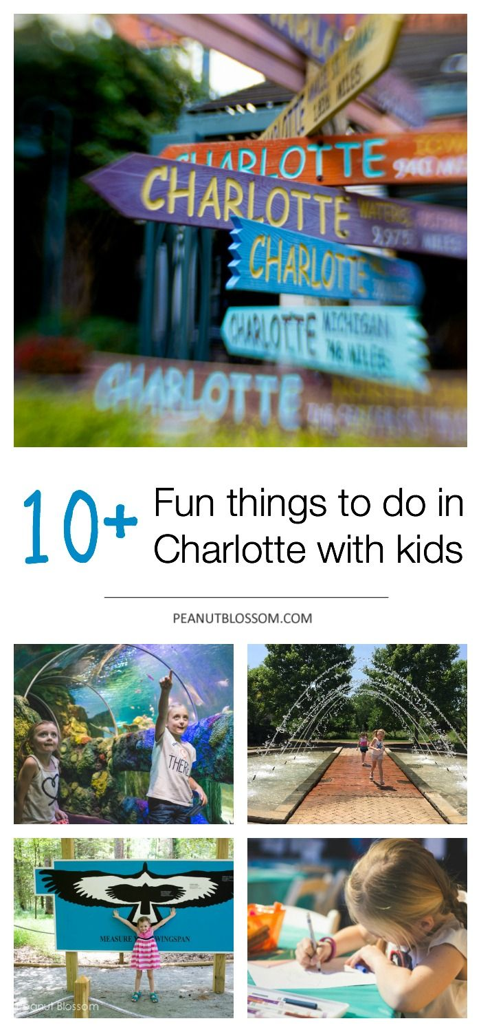 Things For Kids To Do In Charlotte Welcome New Residents Things To Do In Charlotte With Kids