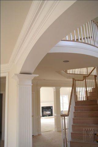 Close Up Of Arch And Fluted Column In 2019 Moldings