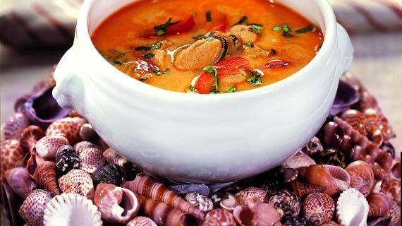 Холодный крем-суп из мидий и креветок с карри. Пошаговый рецепт с фото, удобный поиск рецептов на Gastronom.ru