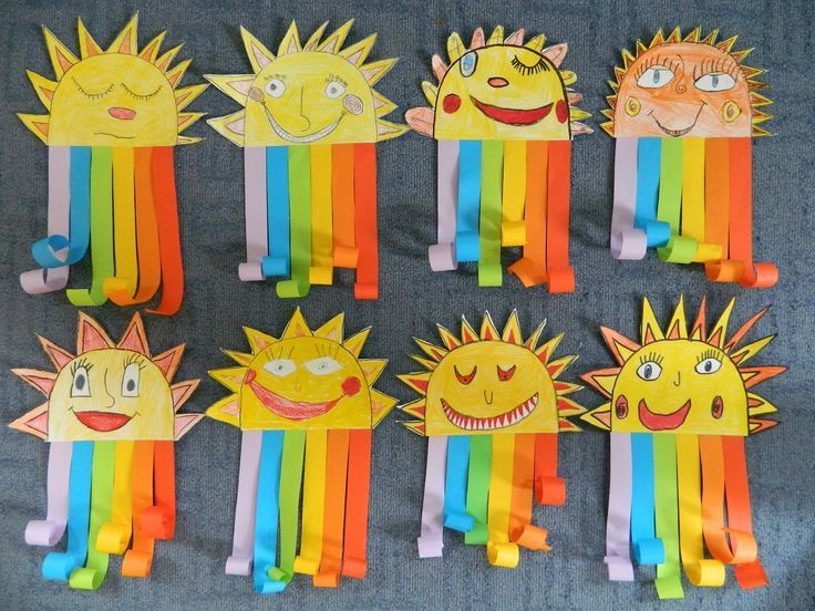 Sweet rainbow craft