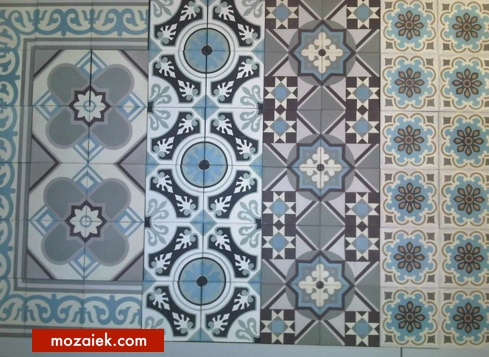 tegels met antieke uitstraling | 14x14 cm | levertijd uit voorraad vanaf magazijn Breda | eigen kleurinvulling langere levertijd | mozaiek utrecht