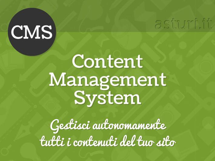 Siti web con CMS - Gestisci autonomamente tutti i contenuti del tuo sito internet direttamente on-line grazie a un'apposita area riservata