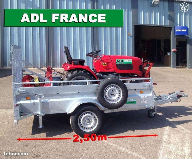 Remorque Robust Freinée Lider Hayon AR en option Equipement Auto Meurthe-et-Moselle - leboncoin.fr