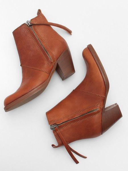 Acne Chestnut Pistol Boot