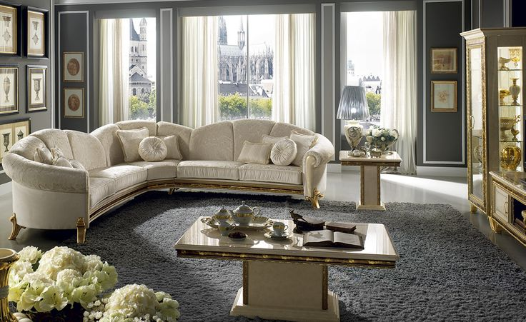 Raffaello Rollection Living Room www.arredoclassic.com/living-room