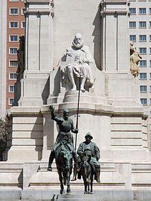 Et av mange monumenter over Don Quijote er Lorenzo Coullaut Valeras ... SEO and Internet Marketing is the best combination!