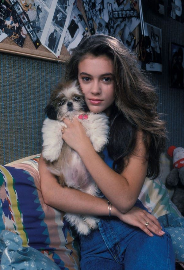 These photos feature gorgeous, young, Alyssa Milano, the actress and producer who first captured our hearts from 1984 – 1992 for her performance on the hit television show Who's the Boss? She is also known for her role on Melrose Place and the WB television series Charmed, which she pla...