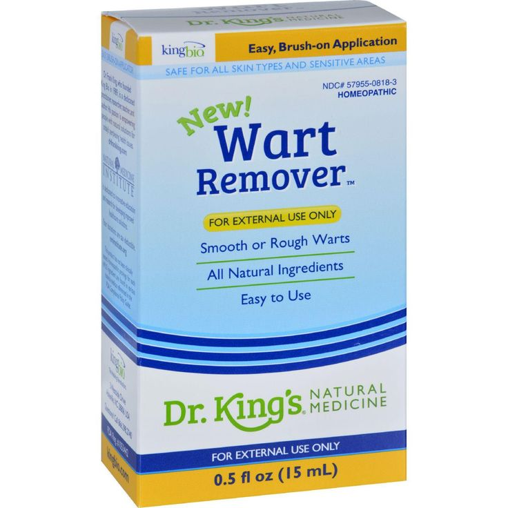 King Bio Homeopathic Wart Remover - .5 Oz