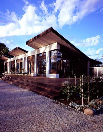 Love This Rammed Earth Home Design.