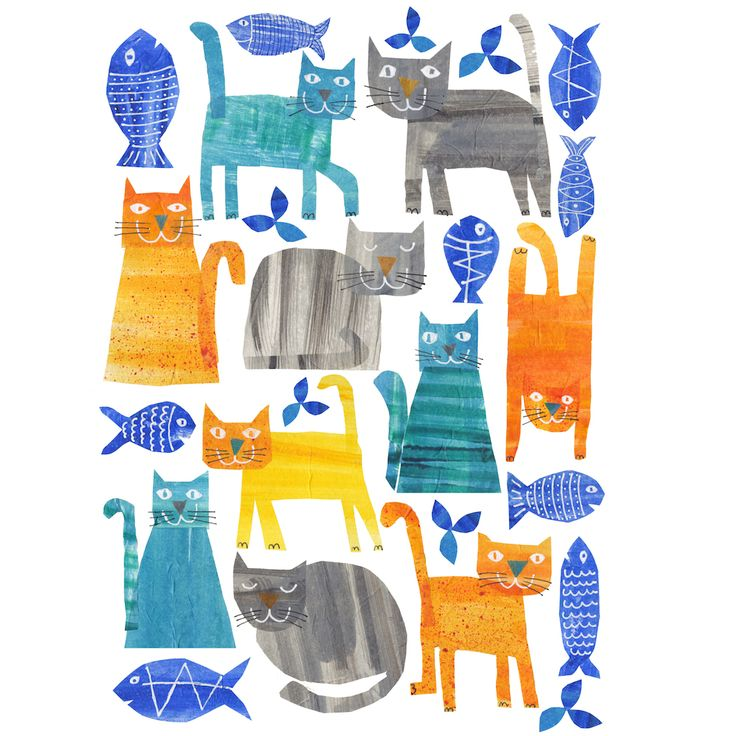 Cats by Tracey English