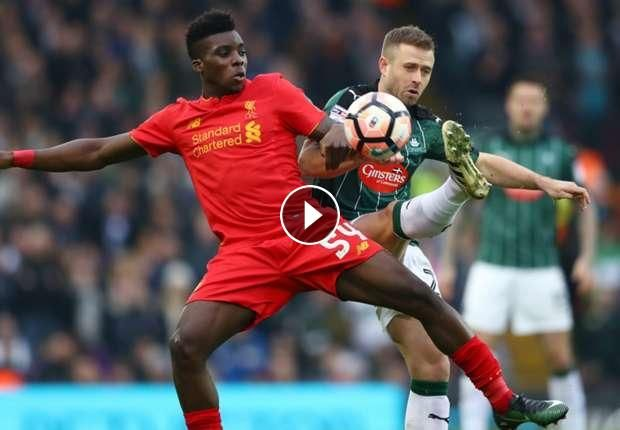 Video Highlights: Liverpool FC vs Plymouth Argyle FC - FA Cup, January 7, 2017 You are watching football / soccer highlights of FA CUP match: Fliverpo...