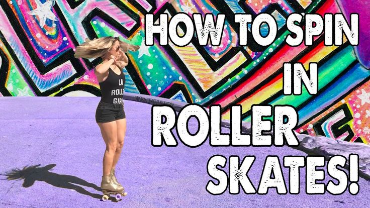 HOW TO SPIN IN ROLLER SKATES WITH CANDICE HEIDEN! - Ep. 7 Planet Roller ...