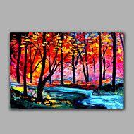 Bright Color Forest Landscape Oil Painting Handmade Wish Popular Design – CAD $ 158.22