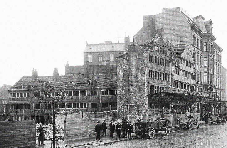 Hamburger Neustadt 1901