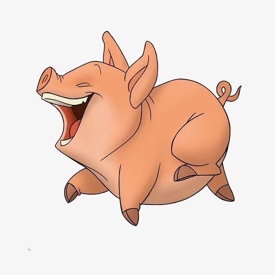 Прикольная свинья рисунки, дню святого
