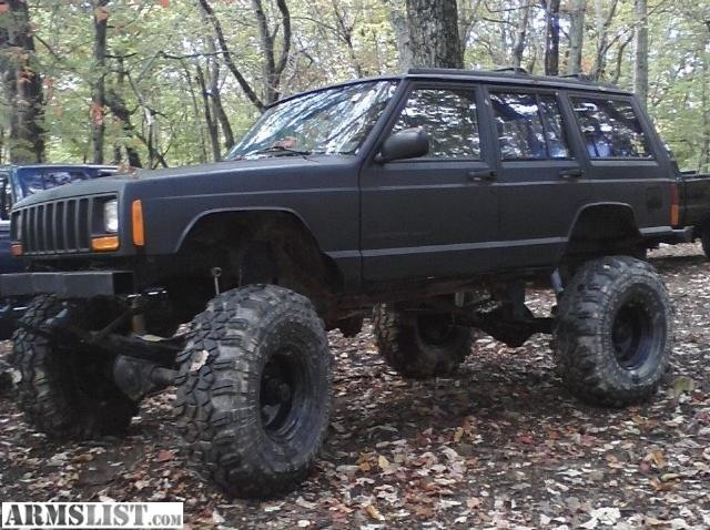 Lifted jeep...and this is what i needdd!!!!