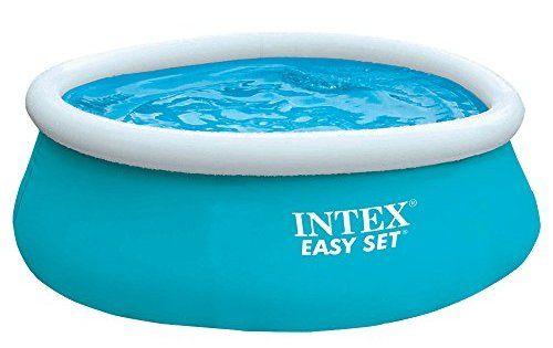 Intex Easy Set Piscine hors-sol: Gonflez le boudin, remplissez et profitez Temps de montage : 10min Inclus un patch de réparation Cet…