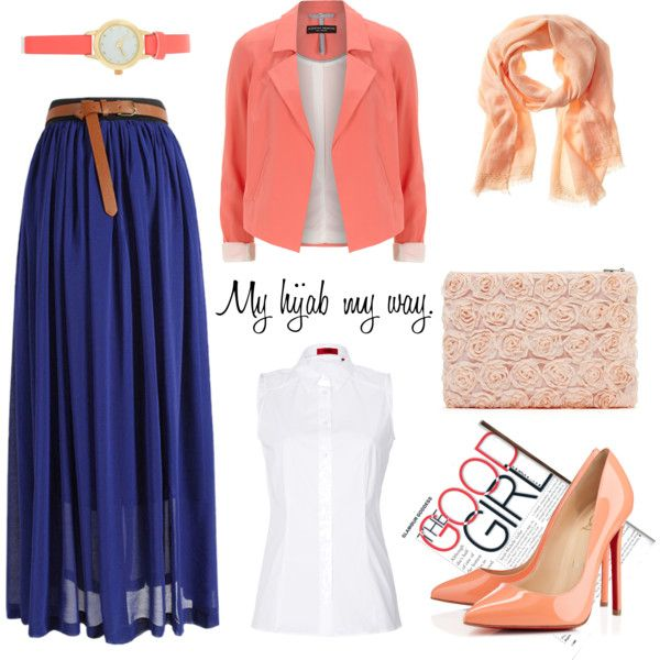"""Muslimah fashion 6"" by lai-la on Polyvore"