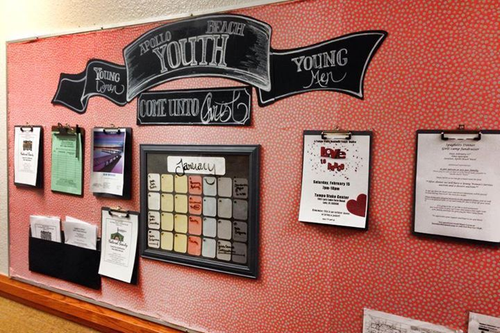 lds youth bulletin boards - Google Search