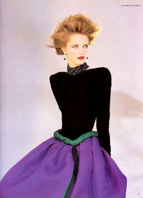 Valentino, 1983 #vintagefashion  #valentino  ##eighties