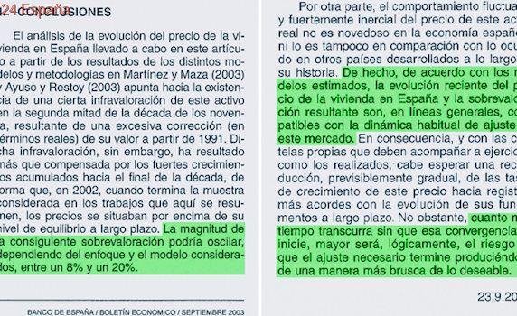 Así avisó el Banco de España en 2003 del riesgo de burbuja inmobiliaria