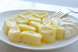 Cottage cheese dumplings Ленивые вареники remind me of gnocchi