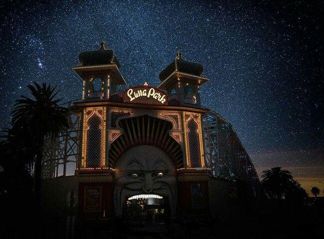 Luna Park St Kilda - photo by Christopher Rimmer